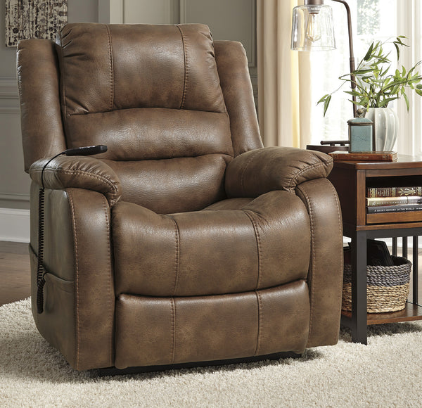 Austin Furniture Outlet: Yandel Saddle Power Lift Recliner