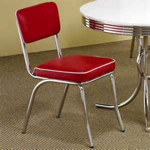 Cleveland Retro Red Dining Chair