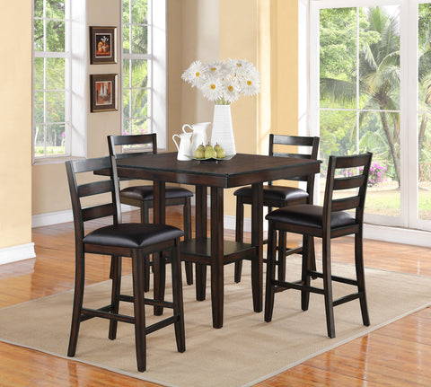 Tahoe 5 Piece Counter Dining Set