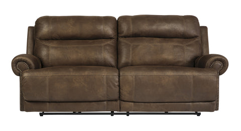 Austere Brown Power Reclining Sofa