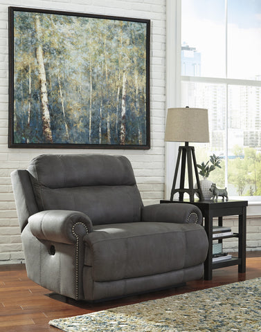 Austere Gray Rocker/Recliner - With Or Without Power