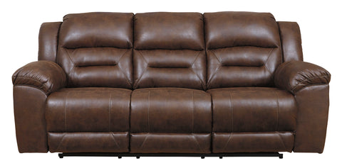Stoneland Chocolate Power Recline Sofa