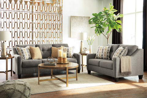 Daylon Graphite Sofa Set
