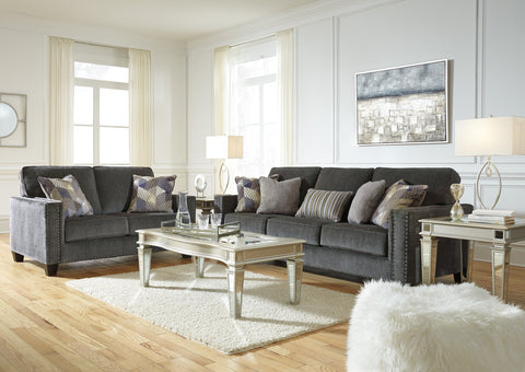 Gavril Smoke Sofa Set