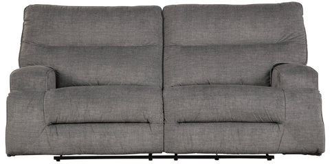 Coombs Charcoal Power Recline Sofa