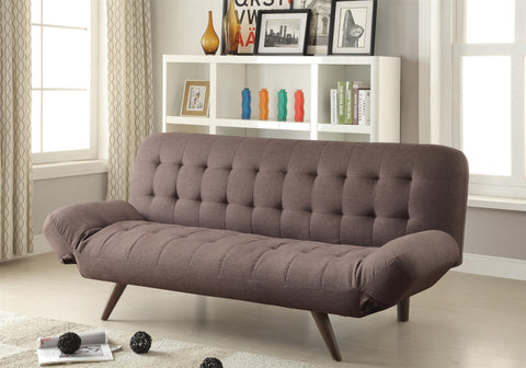 Brown Sofa Bed #500041