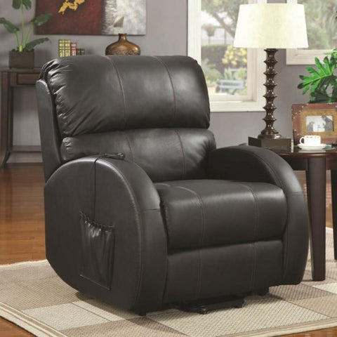Black Power Lift Recliner