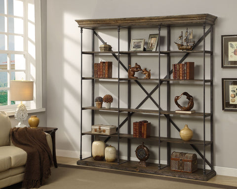 "87"" Tall 5 Tier Bookcase"