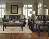 Breville Charcoal Sofa & Loveseat Set