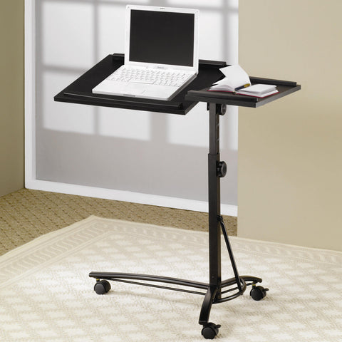 Adjustable Height Laptop Stand-Black or White