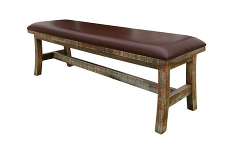962 Antique Multicolor Bench