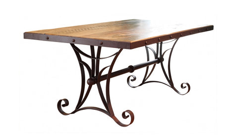 962 Antique Multicolor Table