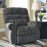 Ernestine Slate Power Lift Recliner