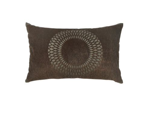 Lazarus Brown Accent Pillow