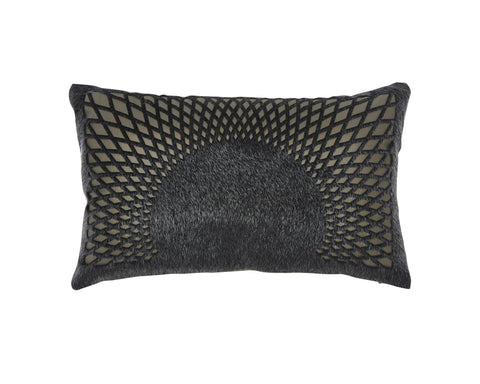 Lazarus Black Accent Pillow