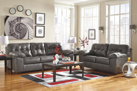 Alliston Gray Sofa & Loveseat Set