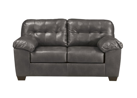 Alliston Gray Loveseat
