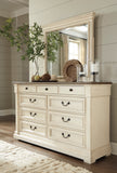 Bolanburg Dresser Top Mirror