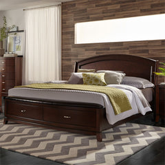 Avalon Panel Storage Bed