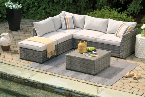 Cherry Point Sectional With Coffee Table
