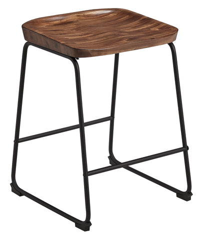 Showdell Brown/Black Stool