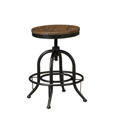 Pinnadel Adjustable Counter And Bar Height Stool