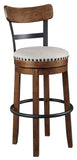"Valebeck Brown 24"" Or 30"" Stool"