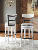 "Valebeck White 24"" Or 30"" Stool"