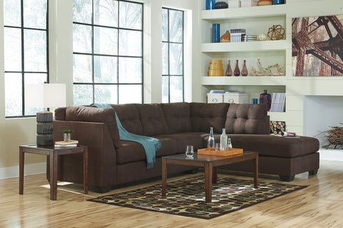 Maier Walnut Sectional