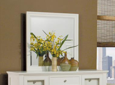 Sandy Beach Dresser Top Mirror