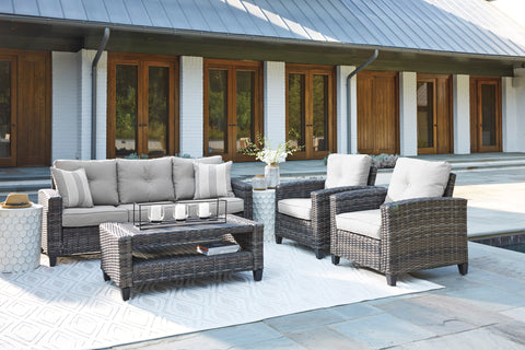 Cloverbrook 4pc Sofa Set