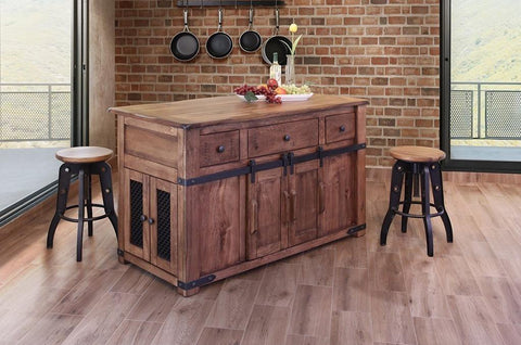 Parota Kitchen Island
