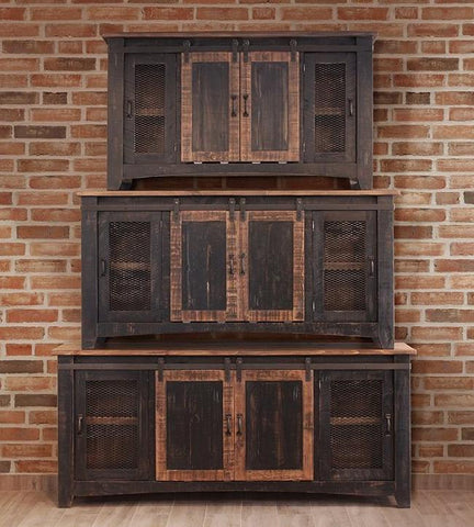 "Pueblo Black Stand in 60"", 70"" and 80"" - Price Start At"