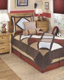 AcademyTwin or Full Bedding 6 Pc Set