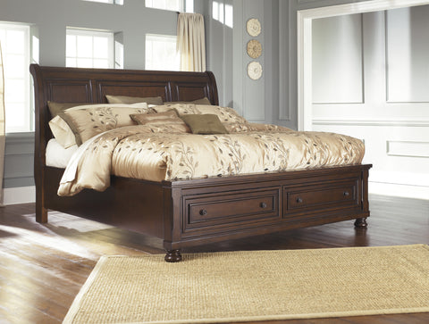 Porter Queen Sleigh Storage Bed