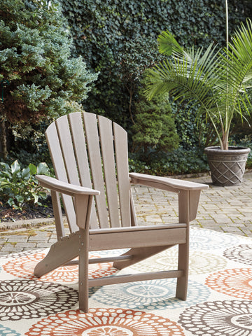 Tan Adirondack Chair