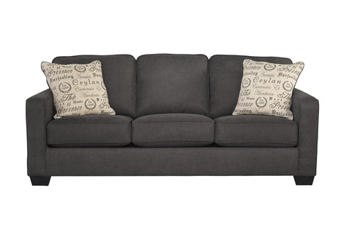 Alenya Charcoal Queen Sleeper Sofa