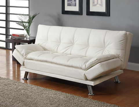 Coaster White Sofa Bed #300291