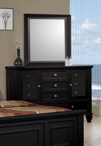 Sandy Beach Dresser (Black)