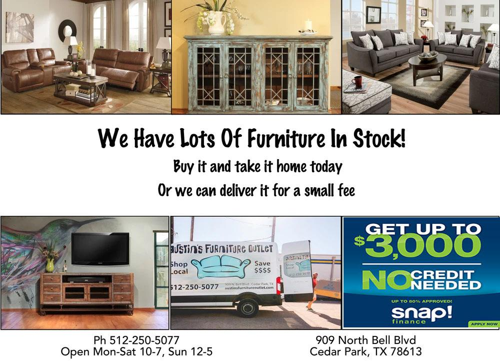 furniture stores in austin