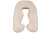 Lightly Latte Back N Belly Mini Body Pillow Product Only