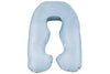 Cool Blue Back N Belly Mini Body Pillow Product Only