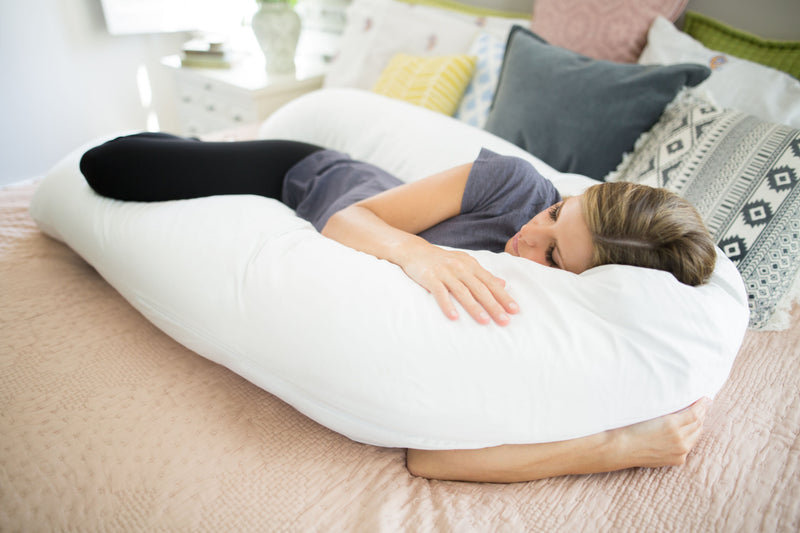 Back N Belly Bliss Body Pillow Lifestyle Sleeping