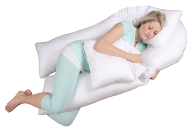 Dream Duo Sleeping Pose in Soothing White