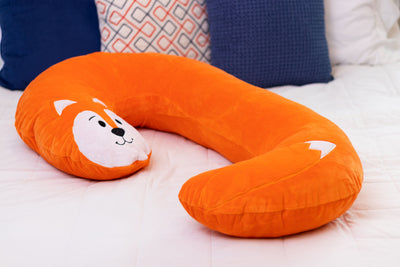 Snoogle Jr Child Size Body Pillow Fox Product Only