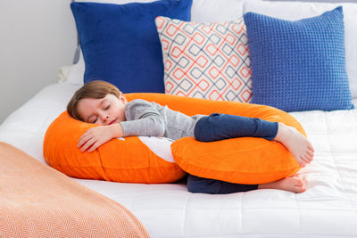 Snoogle Jr Child Size Body Pillow Fox Asleep