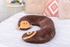 Snoogle Jr Child Size Body Pillow Monkey Product Only