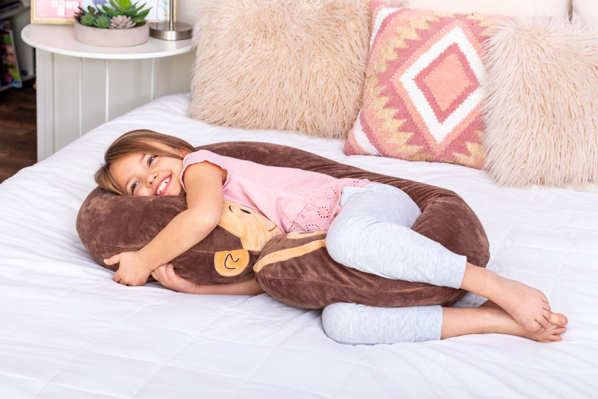Monkey Snoogle Jr Hugging Lifestyle