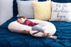 Snoogle Jr Child Size Body Pillow Puppy Awake