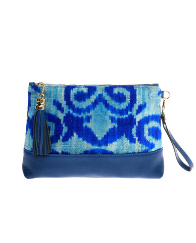 Electric Blue Clutch
